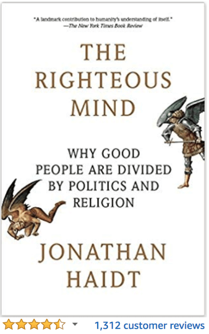 The Righteous Mind Jonathan Haidt