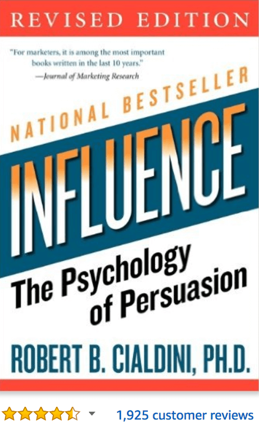Influence The Psychology of Persuasion Robert Cialdini