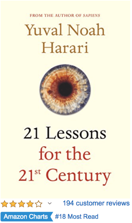 21 Lessons for the 21st Century Yuval Harari