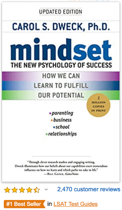 Mindset The New Psychology of Success Carol Dweck PhD