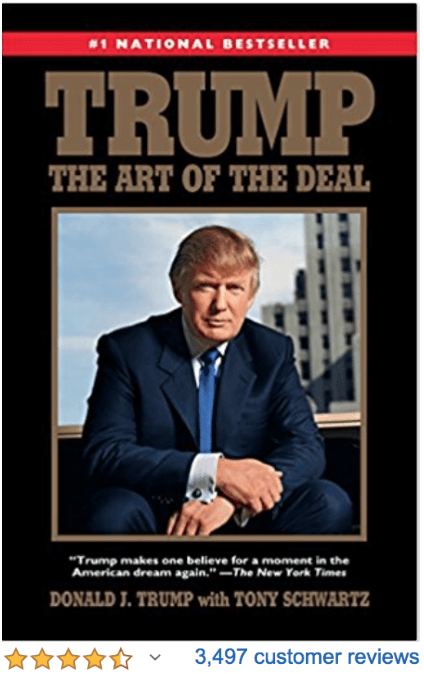 Trump The Art of the Deal Donal Trump