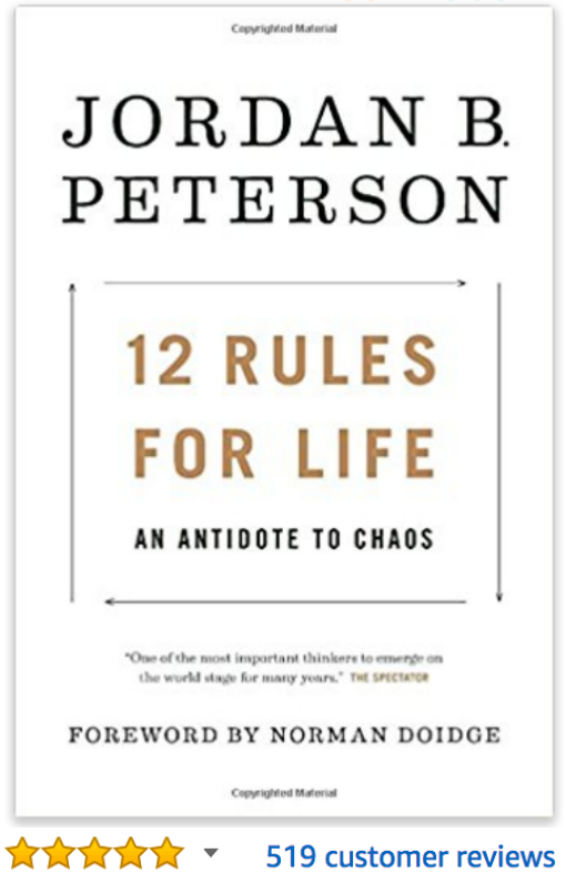 12 Rules for Life: An Antidote to Chaos  Jordan Peterson